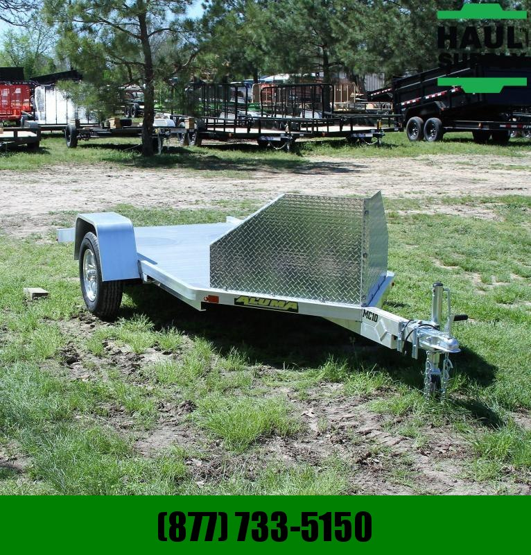 Aluma MOTORCYCLE TRAILER SINGLE AXLE RAMP
