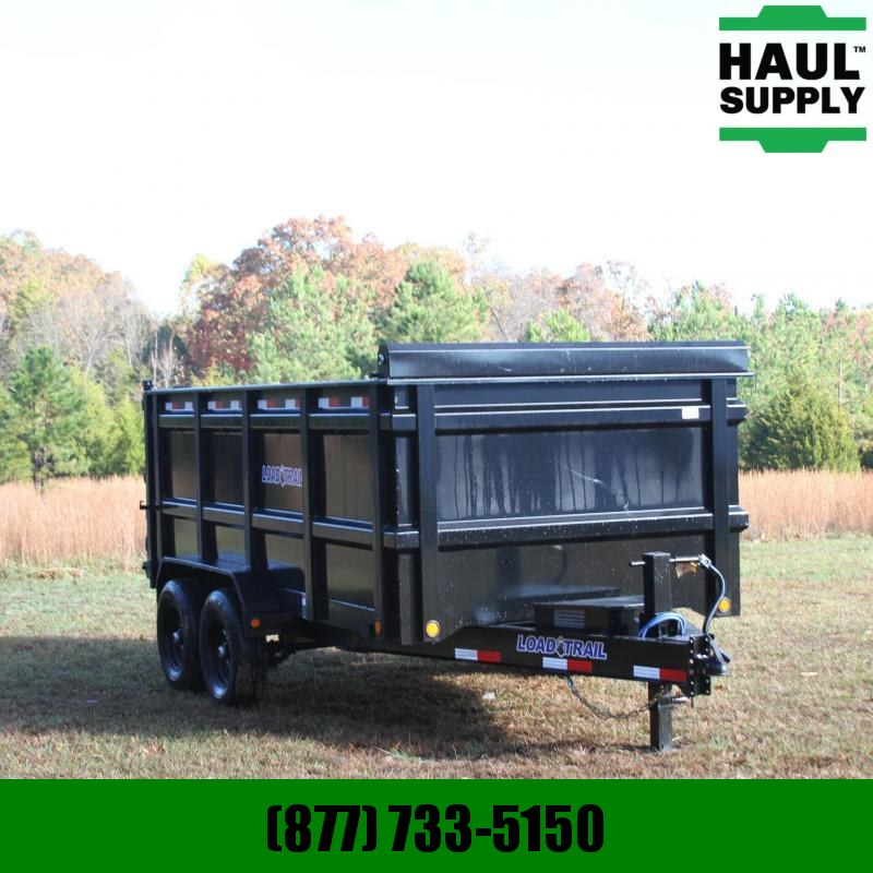 Load Trail 83X14 14K High Side Dump Trailer  /Diamon
