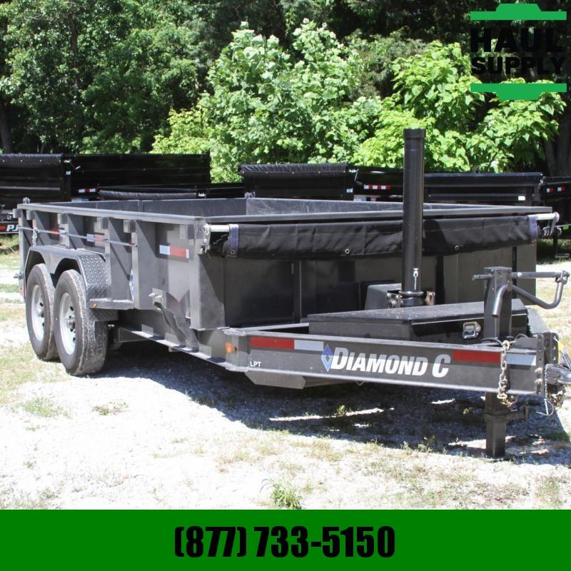 Diamond D 82X14 14K BUMPER PULL DUMP