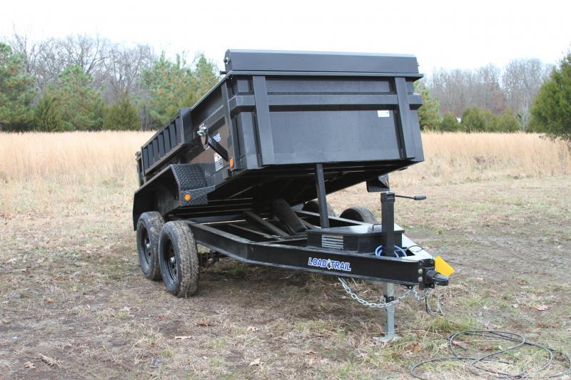 Load Trail 60X10 7K DUMP TRAILER 16IN CROSSMEMBERS 1