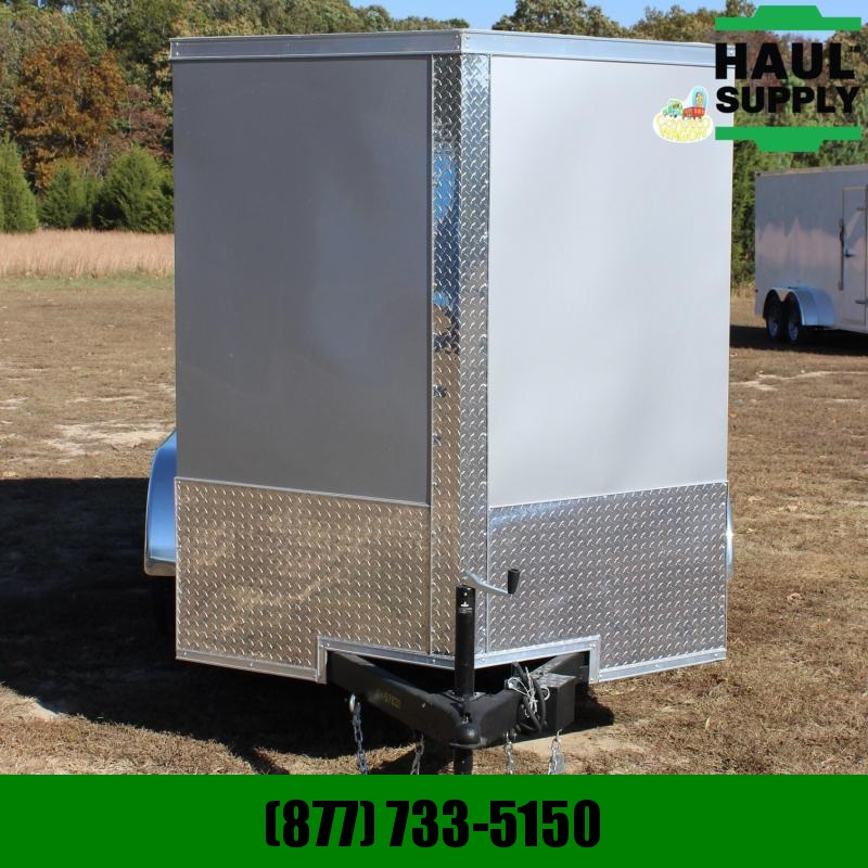 Covered Wagon Trailers 6X12 7K V-NOSE CARGO TRAILER