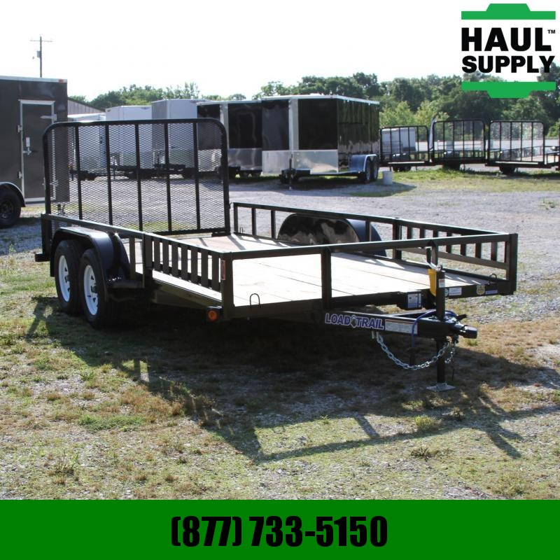 Load Trail 83X16 7K UTILITY TRAILER ANGLE FRAME 4FT