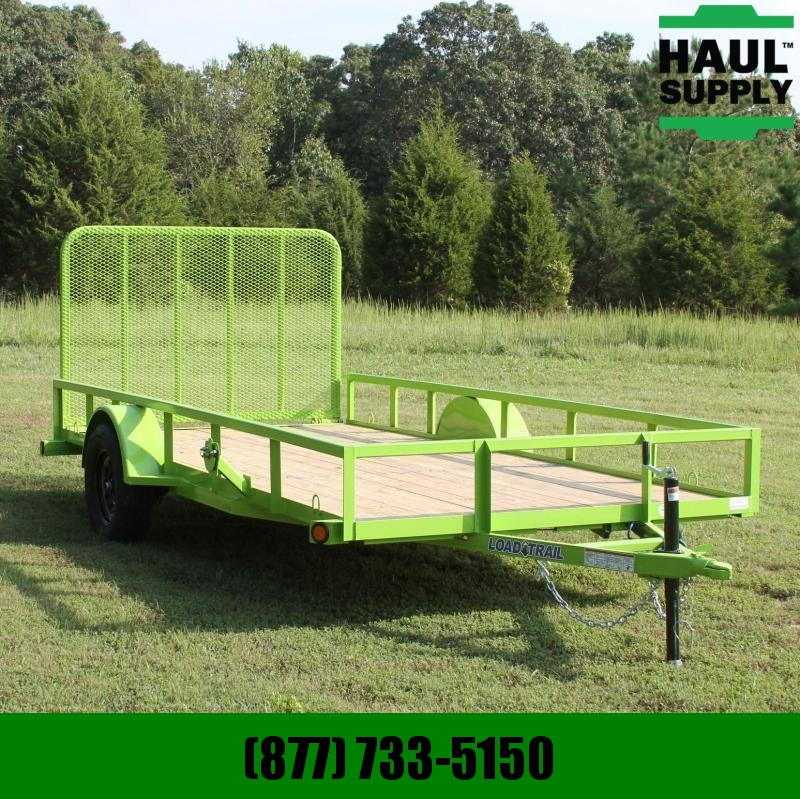 Load Trail 77X14 Utility trailer w/Treated wood floo