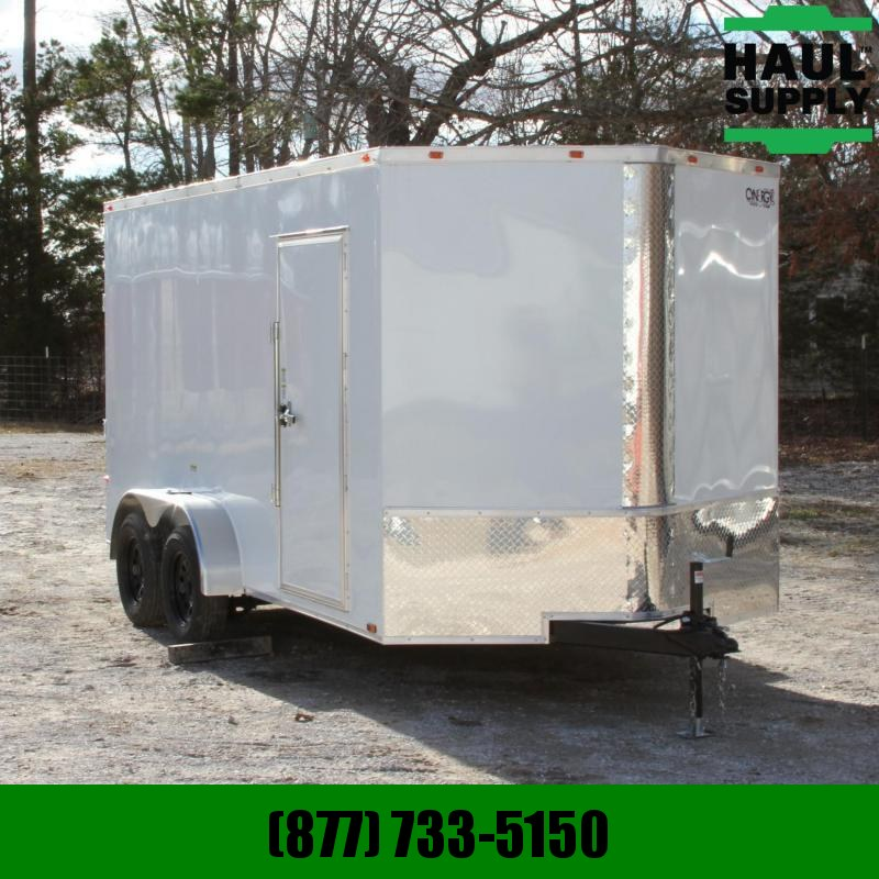 Cynergy Cargo 7X14 7K V-NOSE XT CARGO TRAILER SIDE DOOR