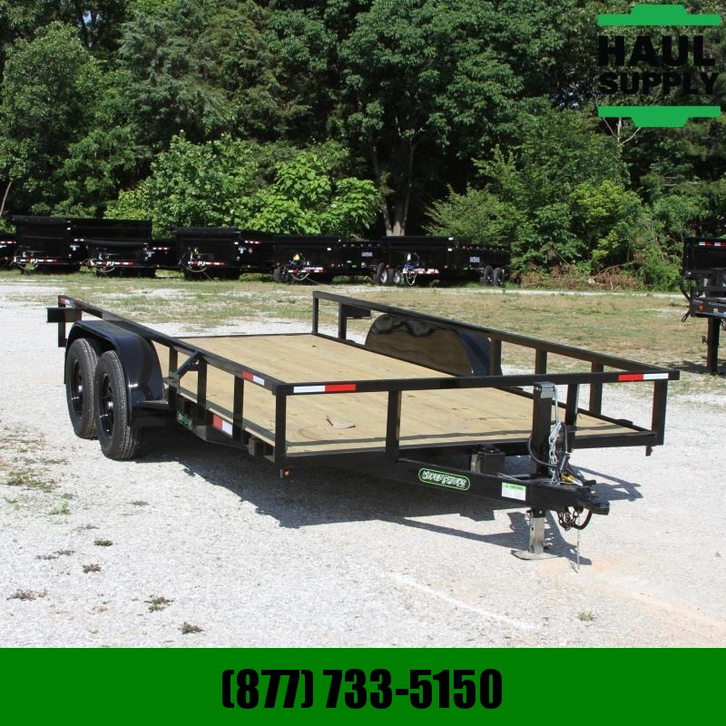 Wicked Trailer Manufacturing 76X16 7K UTILITY TRAILER SIDE OUT RAMPS R