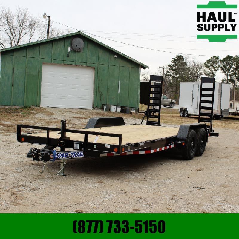 Load Trail 83X20 10K OPEN CAR HAULER EQUIPMENT TRAIL