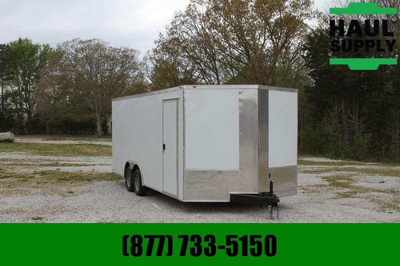 Traveler Cargo 8.5X20 7K ENCLOSED CAR HAULER REAR RAMP R