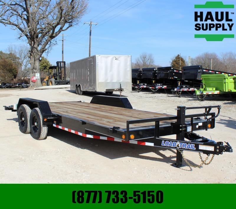 Load Trail 83X20 7K OPEN CAR HAULER 5IN CHANNEL FRAM