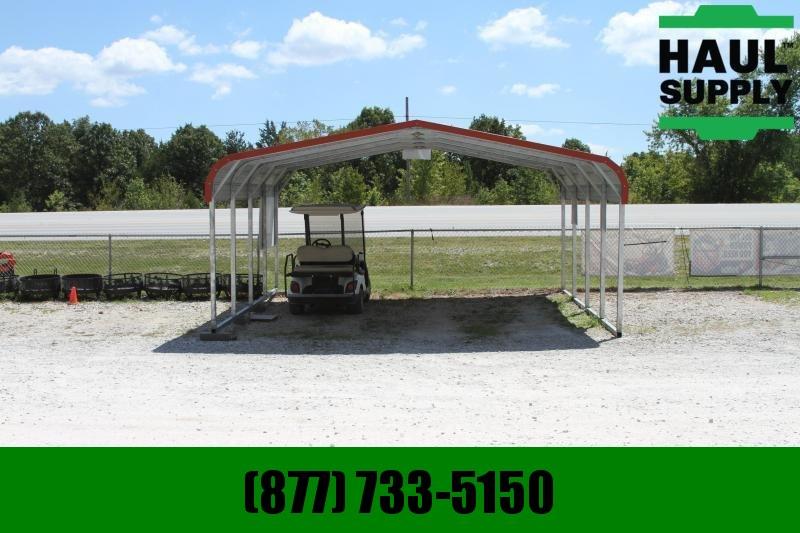 All Steel Carports 18X21X6 14GA HORIZONTAL