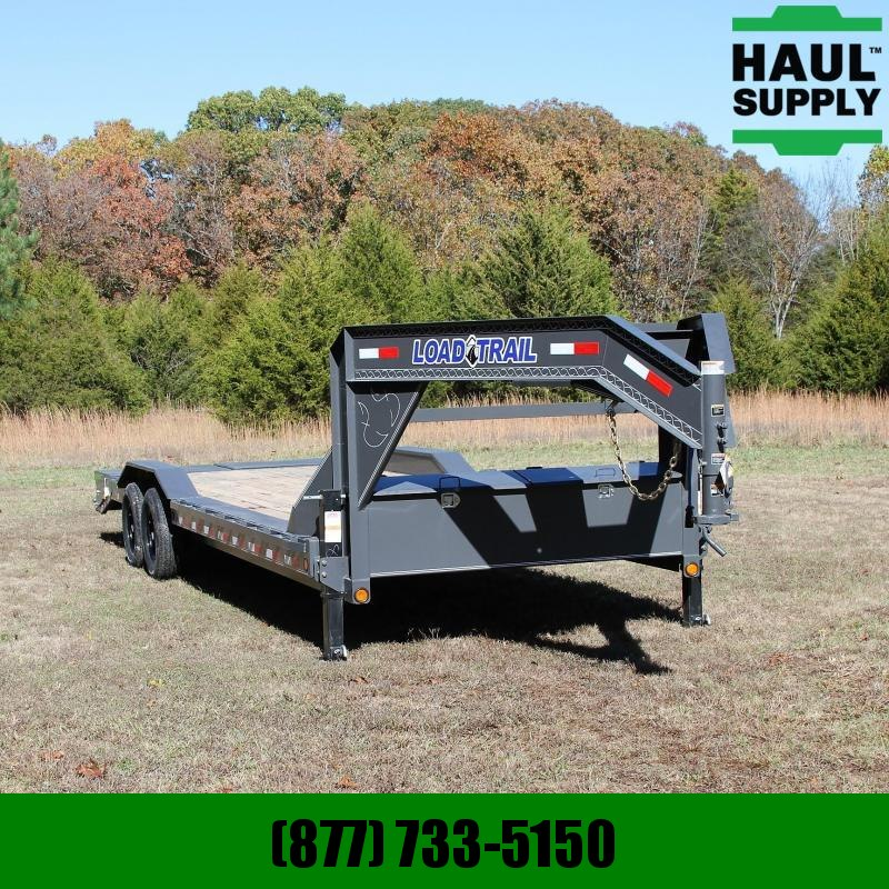 Load Trail 102X26 14K Gooseneck Open Car Hauler Fron