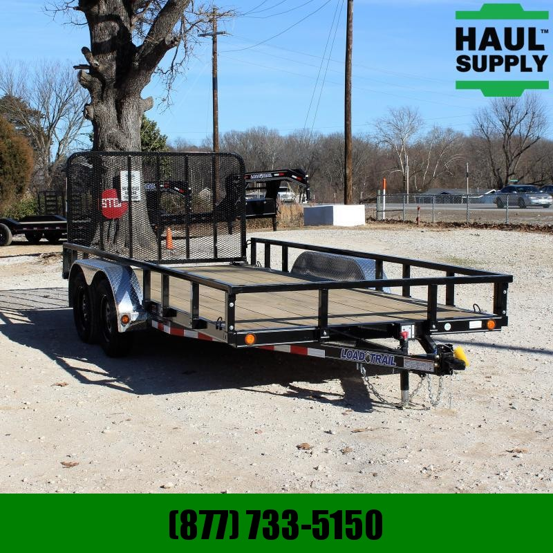 Load Trail 83X16 7K UTILITY 4FT FOLD IN GATE TREATED
