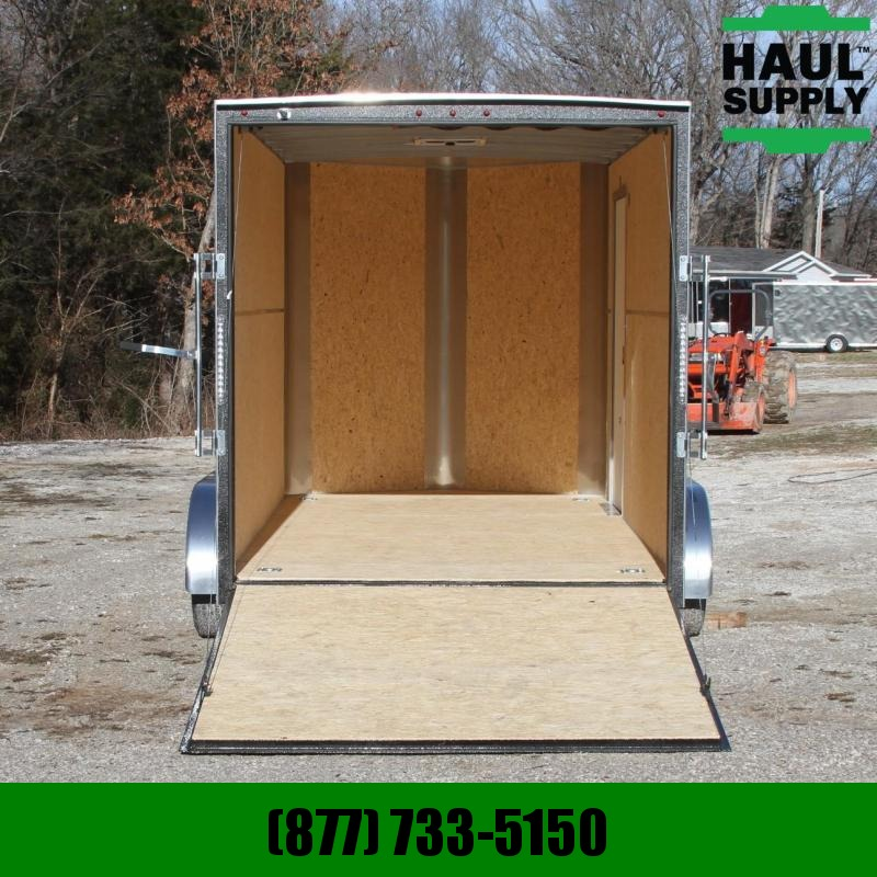 H and H Trailer 7X14 7KV-NOSE XXT ENCLOSED TRAILER D-RING