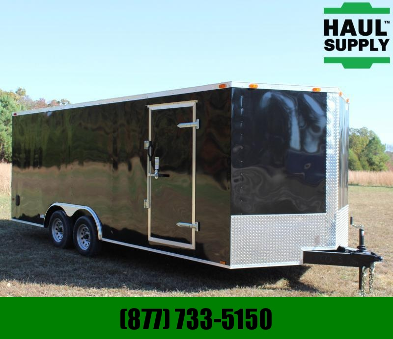 Cynergy Cargo 8.5X20 7K V-NOSE ENCLOSED CAR HAULER SIDE