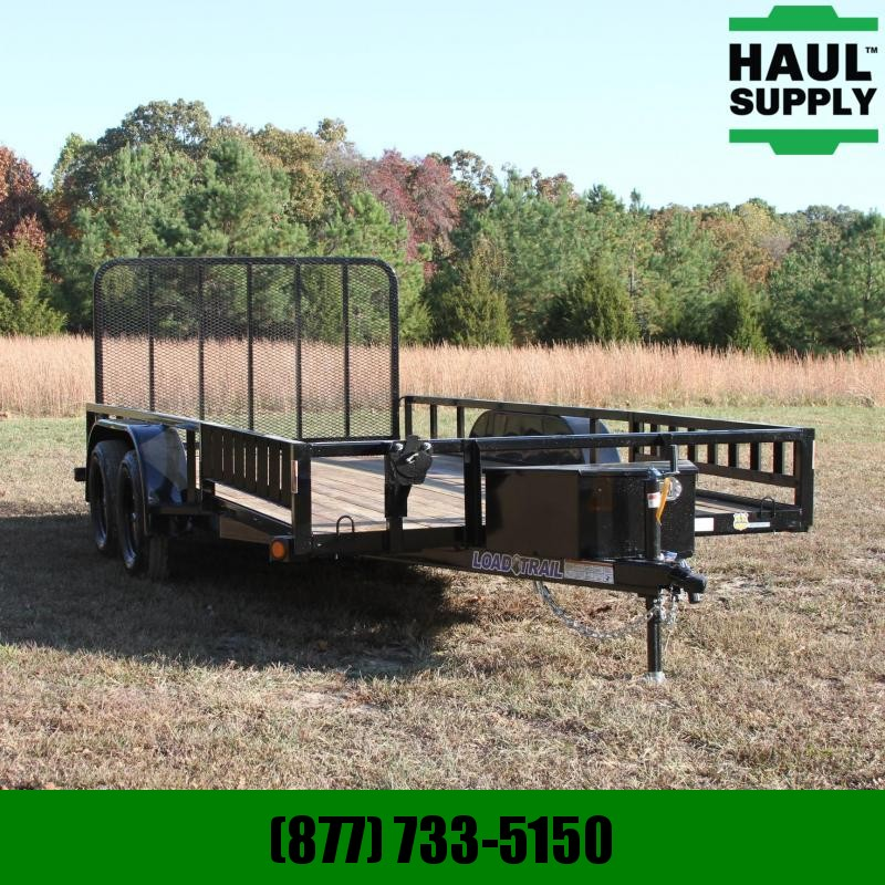 Load Trail 83X16 7K Utility w/Dexter Spring axles Tr