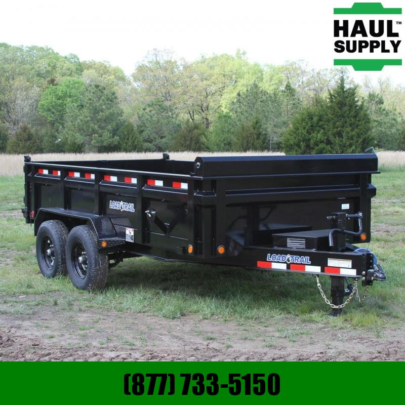 Load Trail 83X14 14K DUMP 24 IN SIDES  SLIDE IN RAMP