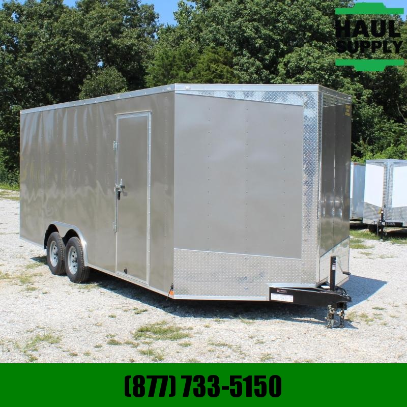 Lark 8.5X20 7K V-NOSE ENCLOSED CARHAULER  XT R