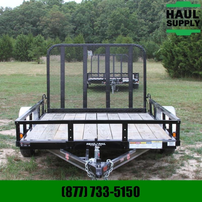 PJ Trailers 77X10 Channel utility trailer w/treated w