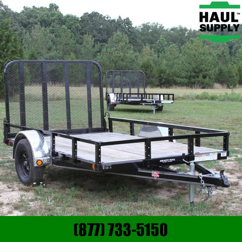 PJ Trailers 77X10 Channel utility trailer w/treated w