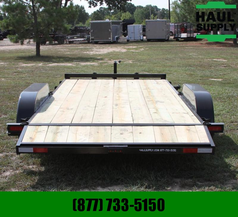 Wicked Trailer Manufacturing 82X18 7K Open CarHauler Dovetail w/5'Slid