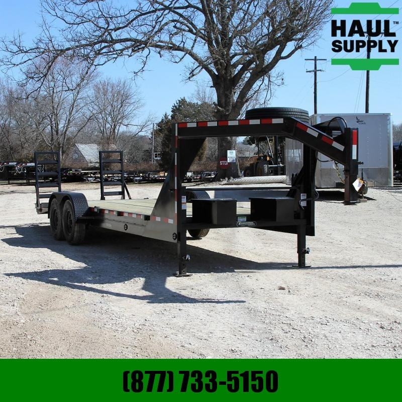 Wicked Trailer Manufacturing 82X24 16K GOOSENECK LOWBOY TRAILER RADIAL