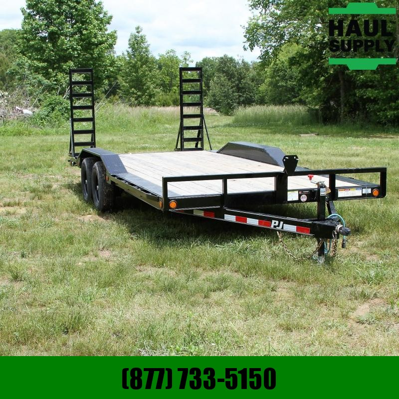 PJ Trailers 101X20 CHANNEL BUGGY HAULER 2FT DOVETAIL