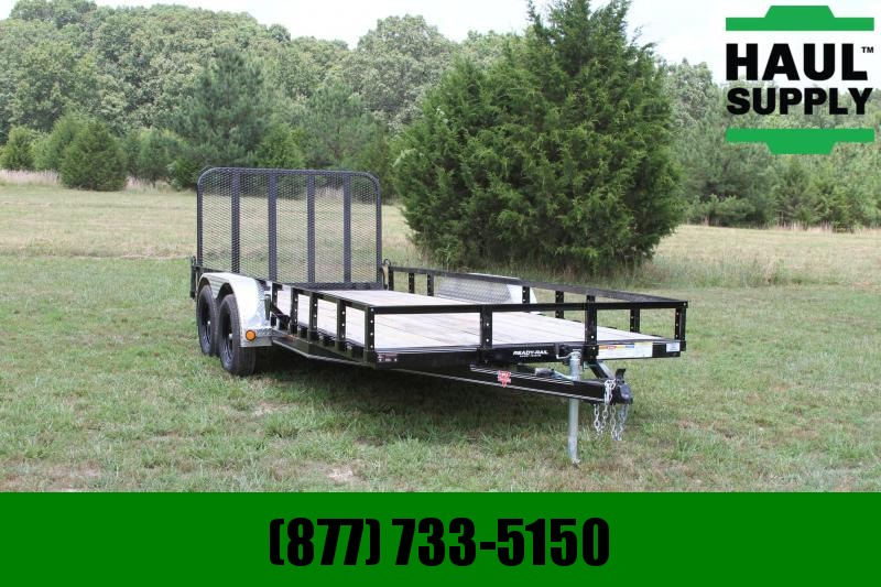 PJ Trailers 83X18 Utility Trailer Channel Frame Gate