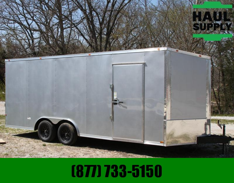 Cynergy Cargo 8.5X20 7K V-NOSE XT ENCLOSED CAR HAULER R
