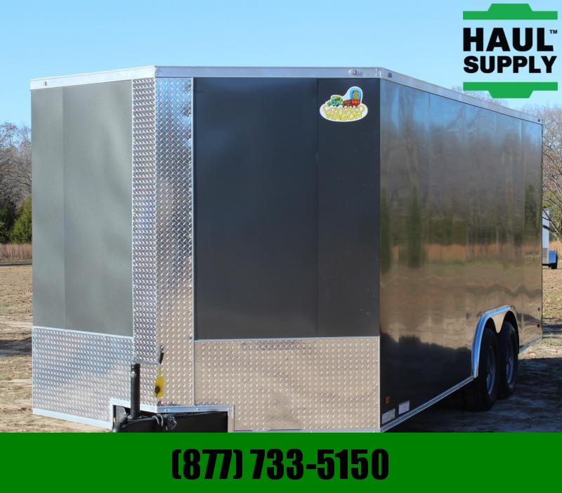 Covered Wagon Trailers 8.5X20 10K XT VN ENCLOSED CAR HAULER REAR