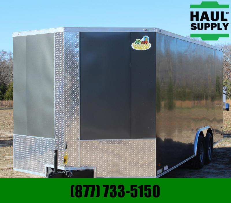 Covered Wagon Trailers 8.5X20 10K XT VN ENCLOSED CAR HAULER REAR