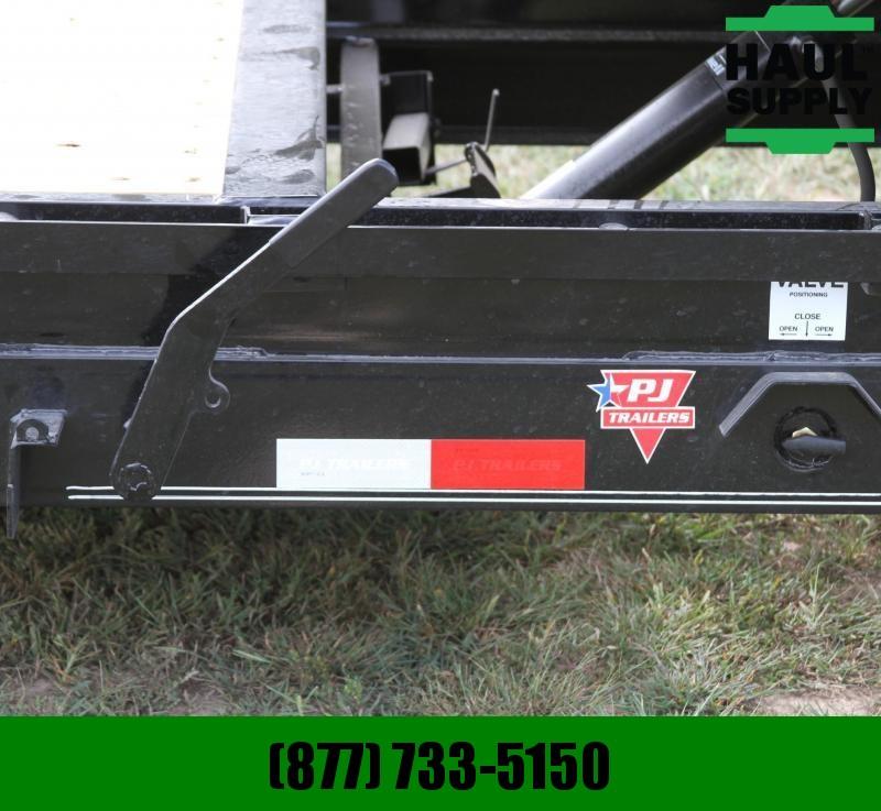 PJ Trailers 83X20 14K Channel Equipment Tilt Trailer