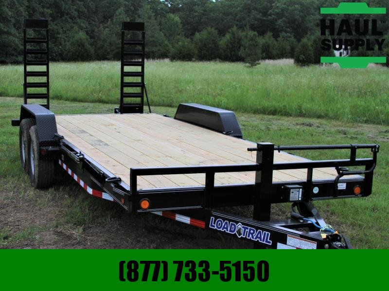 "Load Trail 83X20 14K EQUIPMENT TRAILER 6""CHANNEL FRA"