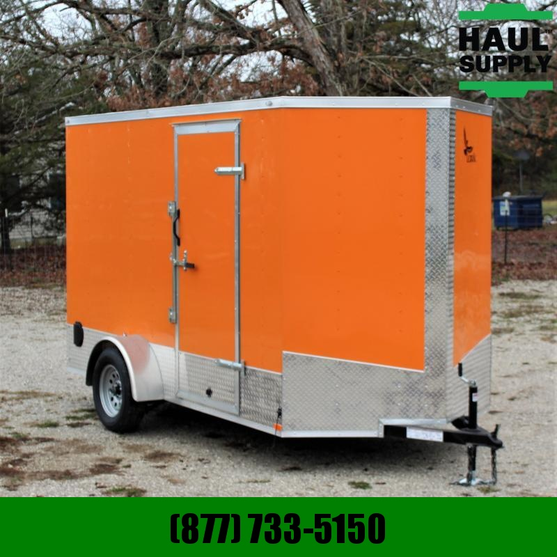 Shoops Trailer Mfg Inc. 6X112 V-NOSE XT CARGO TRAILER SIDE VENTS