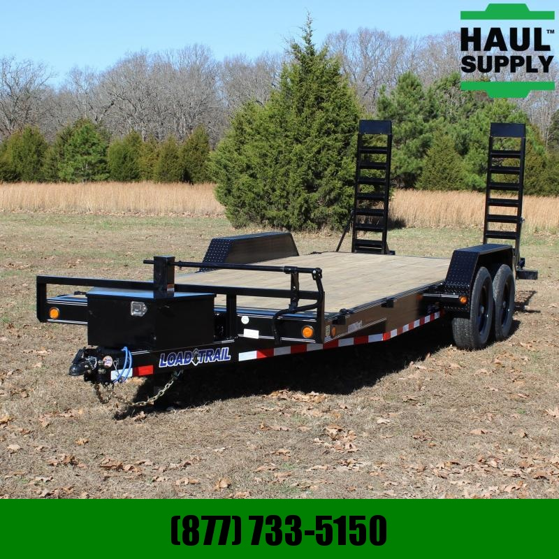"Load Trail 83X20 14K EQUIPMENT TRAILER  6""CHNL FRAME"