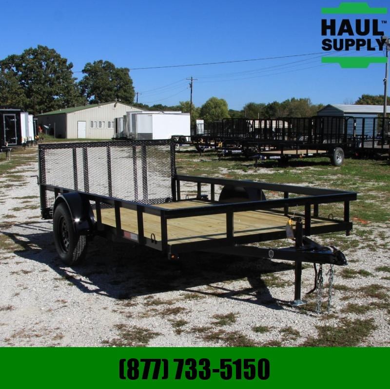 L&O Manufacturing 76X12 UTILITY TRAILER W/DOVE AND 3FT GATE