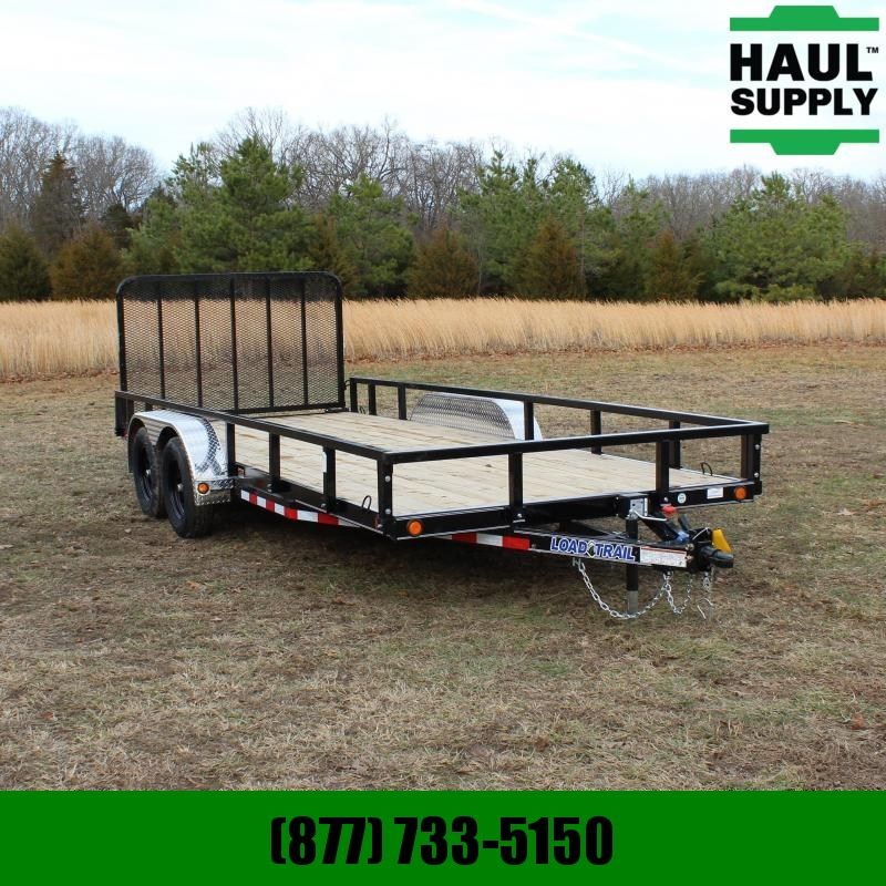 Load Trail 83X18 7K UTILITY TRAILER 4IN CHANNEL FRAM