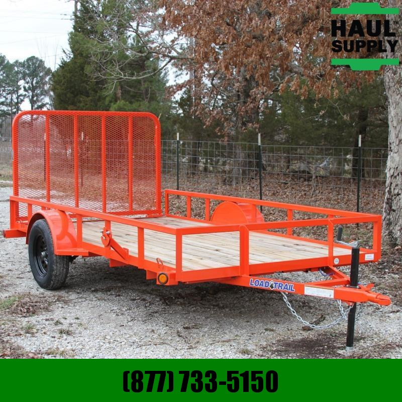 Load Trail 77X12 Utility trailer Treated wood floor