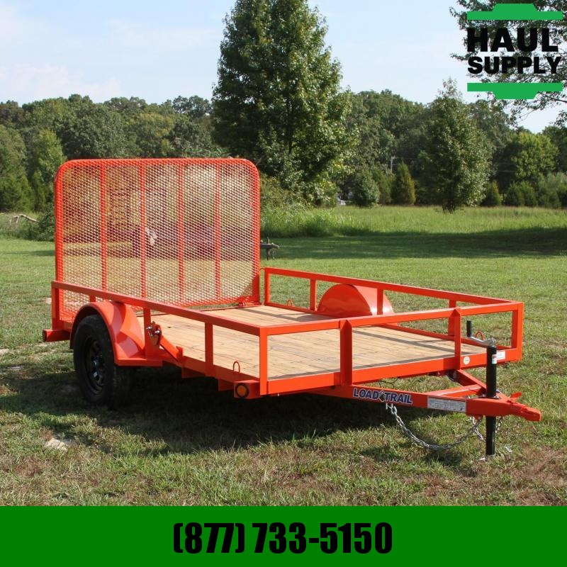 Load Trail 77X10 Utility 4ft Fold-in gate welded Spa