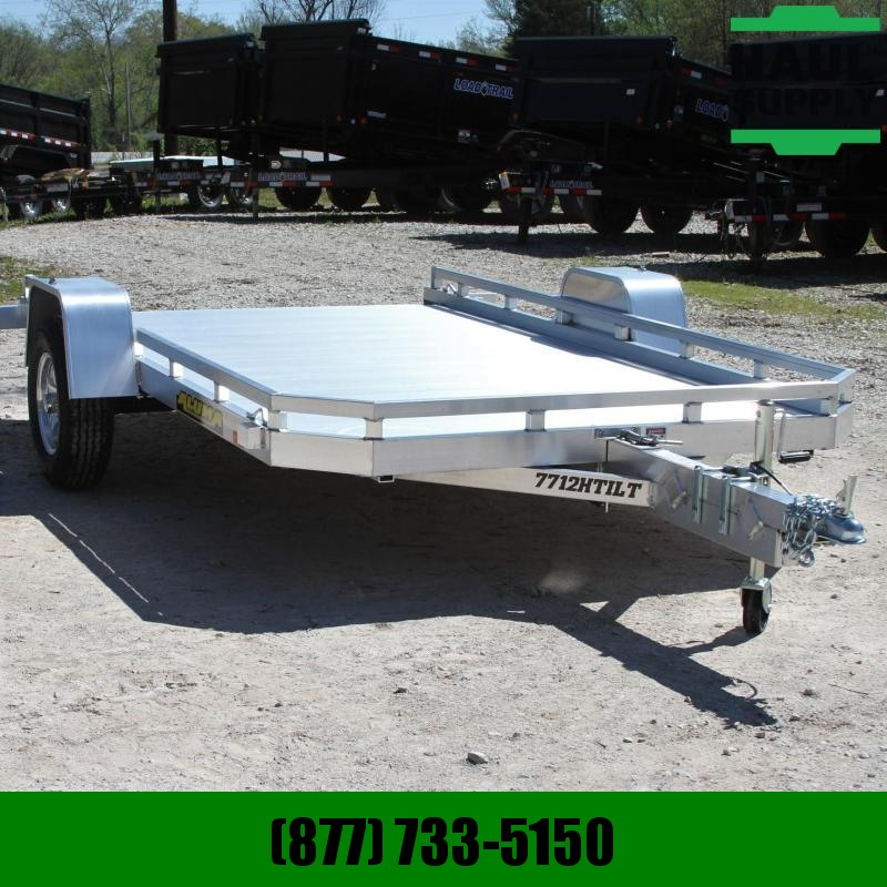 Aluma 78X12 UTILITY TRAILER TORSION AXLE RUSTPR