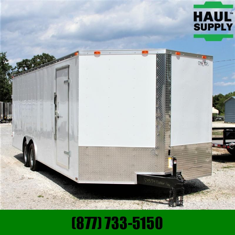 "Cynergy Cargo 8.5X24 7K Enclosed CarHauler 78""Interior"