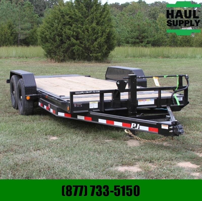 PJ Trailers 83X18 14K Equipment Tilt Trailer 6in Chan
