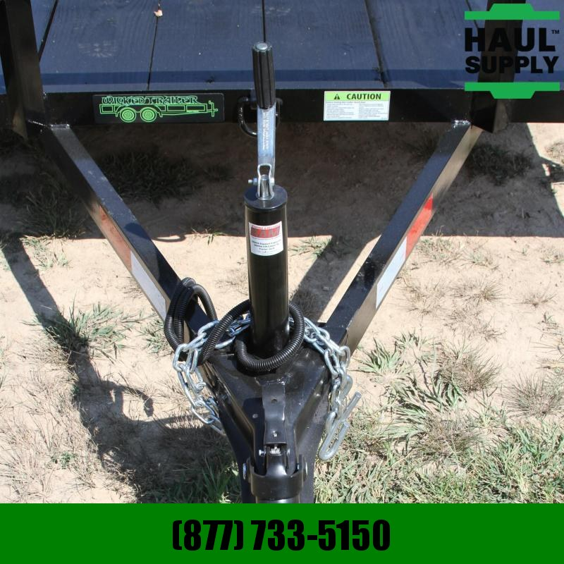 Wicked Trailer Manufacturing 76X10 SINGLE AXLE UTILITY TRAILER TUBE GA