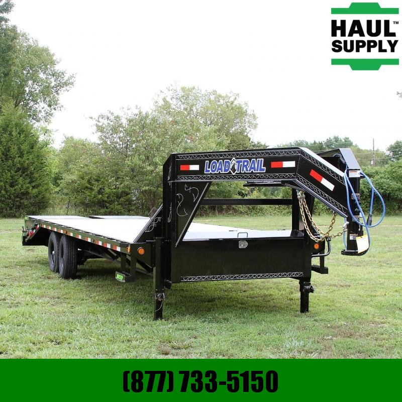 Load Trail 102X25 14K HEAVY DUTY GOOSENECK MAX RAMPS