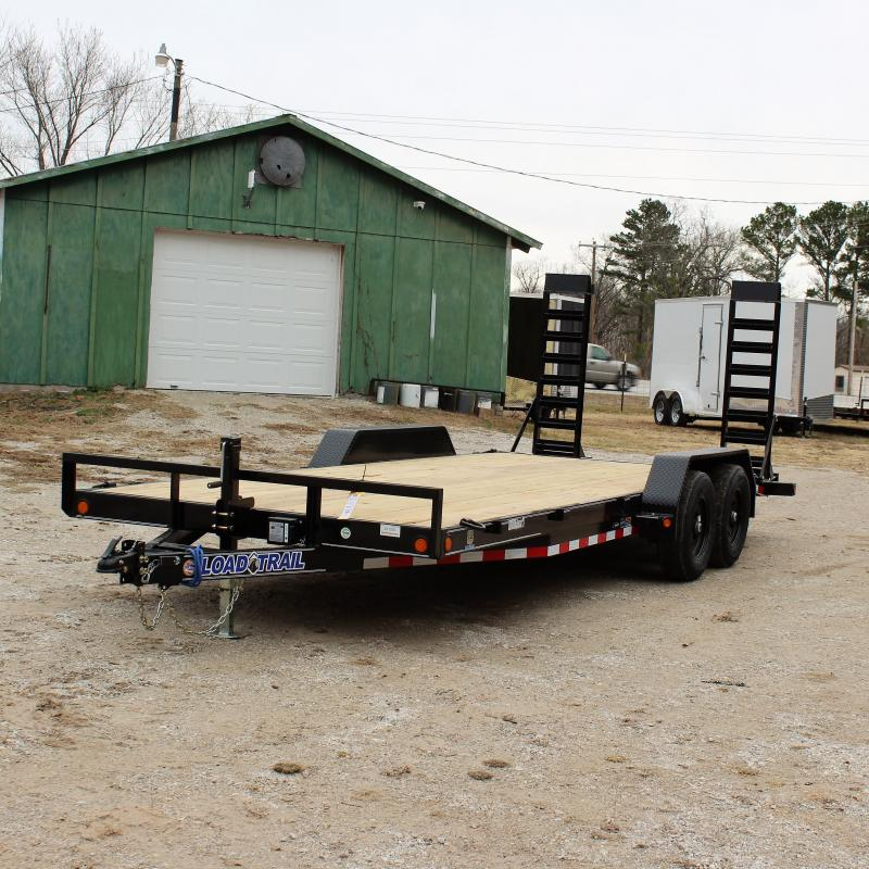 Load Trail 83X20 10K OPEN CAR HAULER EQUIPMENT TRAIL