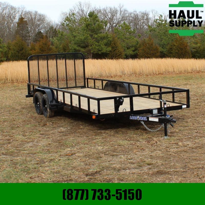Load Trail 83X20 7K UTILITY ANGLE FRAME TREATED WOOD