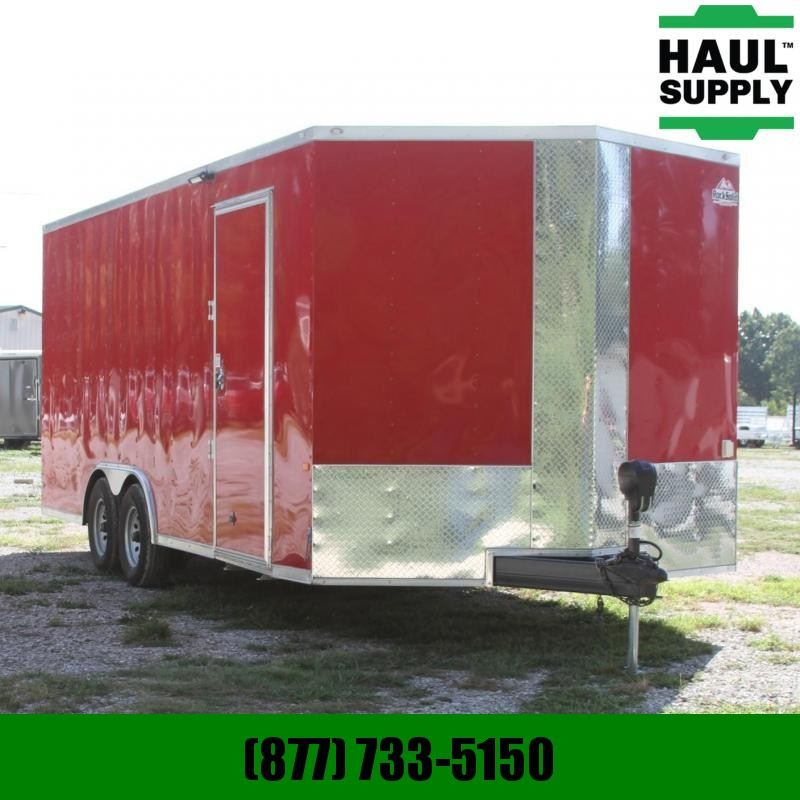 Rock Solid Cargo 8.5X20 ENCLOSED CAR HAULER W/AC INSULTN