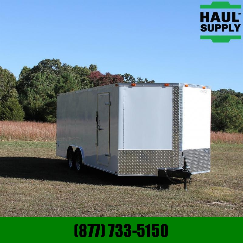 Cynergy Cargo 8.5X20 7K V-nose Enclosed Car Hauler Rear