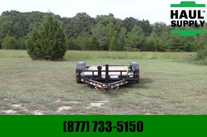 PJ Trailers 83X16 14K Channel Equipment Tilt Trailer