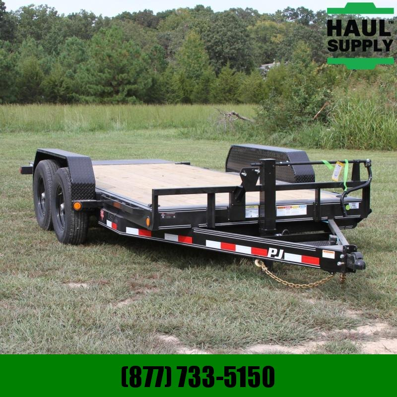 PJ Trailers 83X16 14K Channel Equipment Tilt Trailer