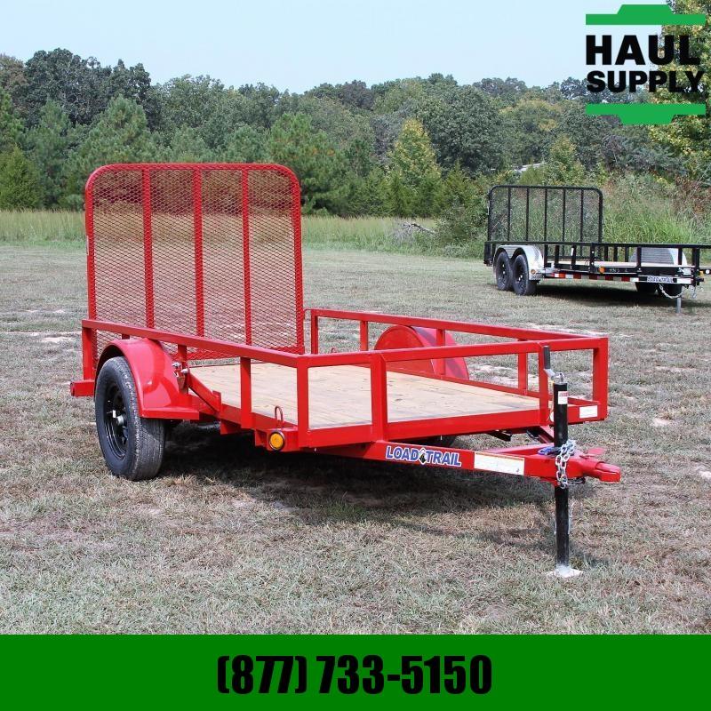 Load Trail 5X10 Single Dexter Axle Utility 4ft Fold-
