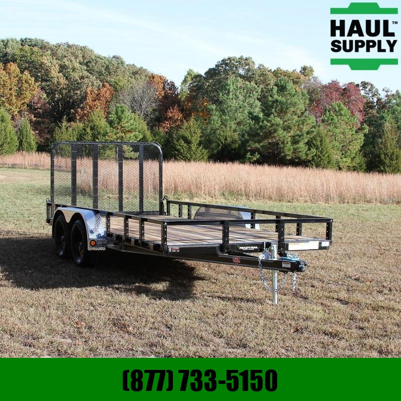 PJ Trailers 83X16 7K Channel Utility Dexter axles w/o